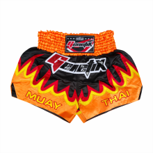 GENETIX MS0102 MUAY THAI SHORT Black