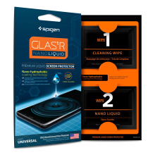 Spigen Screen Protector Glas.tR Nano Liquid Universal Screen Guard