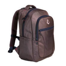 CARION - TAS RANSEL / LAPTOP UNISEX CLASSIC + RAINCOVER - 730041 C  - BROWN
