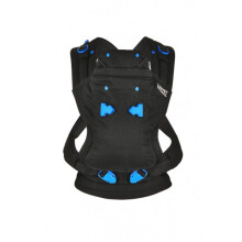 [free ongkir]We Made Me Pao Papoose 3 in 1 Baby Carrier - Midnight Black