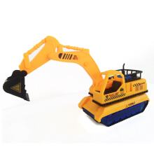 Mobil Traxcavator Construction Mainan Anak - 9035A Yellow