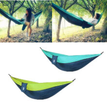 XIAOMI Hammock Swing Bed 1-2Person Parachute Hammocks Max Load 300KG for Outdoor Camping Swings Green