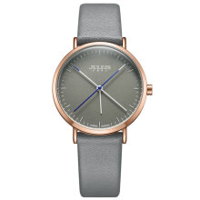 Quartz watches Men's Watch Women's Personality Round Watch Dial Needle Leather Strap Quartz Watches