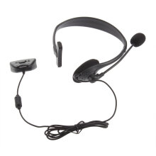 COZIME 1pc Comfortable Headset Headphone Earphone with Microphone Mic for Xbox 360 Black