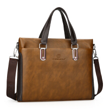 Wei's Men's Bags Business Men's Bags Shoulder Bags Leather Men's Casual Bags Briefcase fdk6820