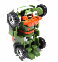 Tobot Mini Junior Korea Taekwon Original - Young Toys Orange