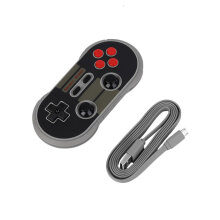 COZIME Portable 8Bitdo NES30 PRO Bluetooth Wireless Game Controller Full Buttons Black