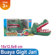 Mainan Anak Crocodile Dentist ED-666A Others