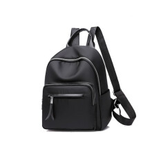 Wei's women's boutique fashion waterproof backpack B-NV-NN8813 Black