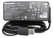 Lenovo Laptop Adaptor 20V 2.25A USB Square Pin Central New.