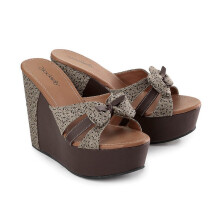 WEDGES KASUAL WANITA - LOL 800