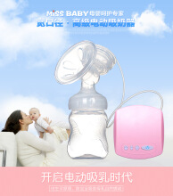 Jantens baby Electric Breast Pump Automatic Massage Breast Pumps Pink