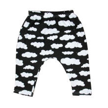 Farfi Cute Infant Newborn Baby Boys Girls Summer Cloud Elastic Long PP Pants Trousers