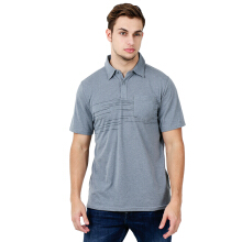 COLUMBIA Trail Shaker Mens Polo - Grey Ash Heather