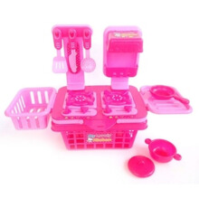 Kaptenstore Mainan Edukasi Anak Masak Masakan Anak My lovely kitchen set Pink