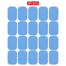 10 pcs 20 pcs Replacement Gel De Fitness Adhesives Hydrogel Electrodo Pad/Patch To EMS Musculal Training ABS trainer