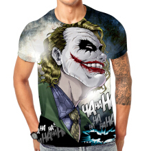 SESIBI M~3XL 3D Fashion Shirts Women Men Cool Short Sleeve Tees Lovers Tops Printing Blouse -Masked Person -
