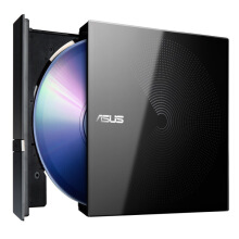 ASUS 8x USB 2.0 External Mobile DVD Drive Black (Compatible with Win7, Win10 and Mac OS/SDR-08B1-U)