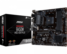 MSI Motherboard B450M Pro VDH Plus Black