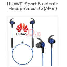 Huawei Sport Bluetooth Headphone Headset In Ear Handsfree Lite AM61 - Biru Blue