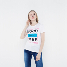FBW Good Vibes Female T-shirt - Putih