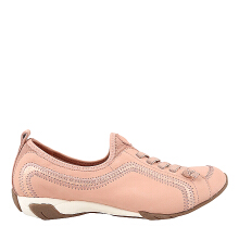 Hush Puppies Qualify in Pale Peach Nubuck KB40733DP050