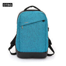 [COZIME] DTBG D8063W 15.6-Inch Oxford Cloth Backpack Unisex USB Charging Computer Bag Blue