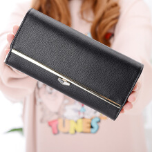 Si Ying S411 Import Ms. Wallet / Korea original / Long zipper wallet