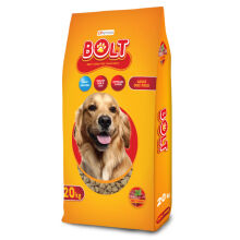 CPPetfood BOLT Beef Kibble Segitiga Dog Food – 20 Kg