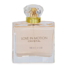 LOVE IN MOTION Eau De Parfum  Femme Crystal 100ml