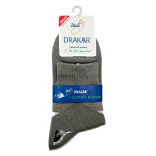 DRAKAAR Men Special Medium Socks Kaos Kaki Pria Dewasa Warna Abu-Abu