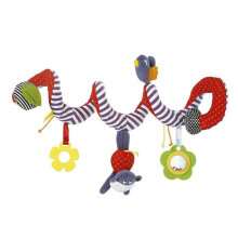 [COZIME] Cute Infant Baby Play Activity Spiral Bed & Stroller Toys Set Hanging Toys Multi Color