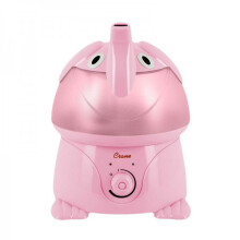 Crane Ultrasonic Cool Mist Humidifier - Pink Elephant