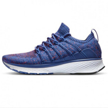 JDWonderfulHouse Xiaomi Mijia Sneakers 2 Men Techinique New Fishbone Lock System Sport Running Shoes Sneakers  Floral Blue 43