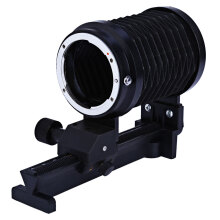 Macro Extension Close-up Bellows for Nikon DSLR Cameras  - Black