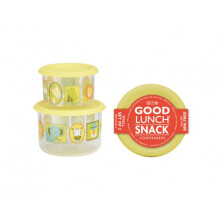 Sugar Booger Good Lunch Snack Containers Small Set of Two - It's A Jungle