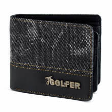 GOLFER - MEN WALLET DOMPET KASUAL PRIA - GF.2803 - BLACK