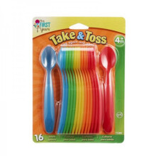 The First Years Take & Toss Infant Spoon - 16 Pack