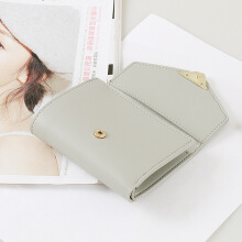 YOOHUI Short three-fold simple small wallet ladies wallet