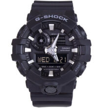 Casio G-SHOCK GA-700-1B Sports waterproof electronic watch-Black