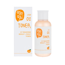 QYO QYO TANGERINE BRIGHT+MOIST TONER 120ml
