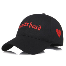 SiYing casual outdoor baseball cap men and women wild embroidery heart broken cap