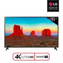 LG Smart LED TV 55 Inch 4K UHD Digital - 55UK6300 [LG PREMIUM SERVICE]