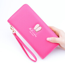 Si Ying S461 Import Ms. Wallet / Korea original / Long zipper wallet