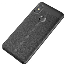 RockWolf Xiaomi Redmi note 5 pro case Leather slip resistant and shockproof soft shell silicone case