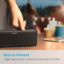 ANKER SoundCore Boost UN Black with Offline Packaging-A3145H12 Black