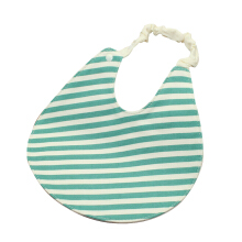 SiYing Sling Double Layer Waterproof Elastic Round Baby Cotton Bib