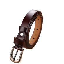SiYing Korean women's leather decorative pin buckle belt