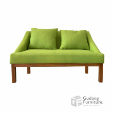Gudang Furniture Series Adelaide Sofa Living Room Minimalis Light Green