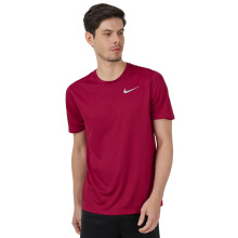 NIKE As M Nk Df Brthe Run Top Ss - Red Crush/Red Crush